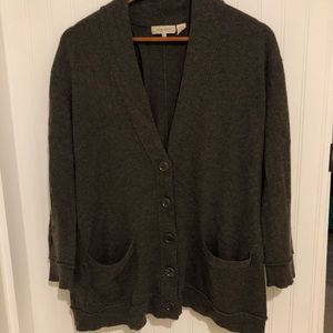 Inhabit open back cashmere cardigan Sweater S